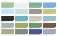 HGTV HOME™ by Sherwin-Williams - Coastal Cool. Loved this pallate, thinking Sea Salt for exterior, Curio Gray for kitchen island, Watery for Master Bedroom, Pier for Dining Room, Comfort Gray for Living and secondary bed, Accessible Beige for entry?