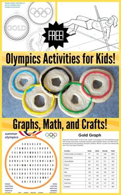 With this fun Olympics activities for kids, you can be active participants in th. - With this fun Olympics activities for kids, you can be active participants in the games while pract - Olympics Kids Activities, Olympic Games For Kids, Olympic Idea, Kids Olympics, Sports Activities For Kids, Summer Camp Activities, Math For Kids, Kids Fun, Summer Olympics