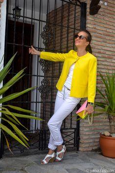 Солнечный жакет. www.yana.fashion