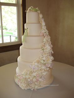 six tier wedding cakes 1000 images about wedding cake soft pastel on 7530