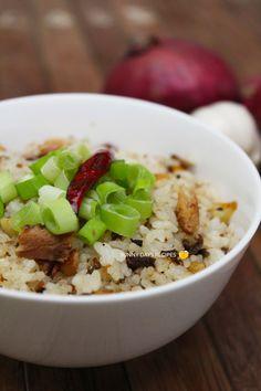 Spicy Sardines Fried Rice #sunnydaysrecipes #friedrice  I sunnydaysrecipes.com