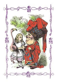 Sir John Tenniel (1820 – 1914) was an English illustrator best remembered for his work in Lewis Carroll's Alice's Adventures in Wonderland and Through the Looking-Glass.