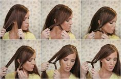 The Freckled Fox - a Hairstyle Blog: Summers End Hair Week: The Easy Knotted Updo