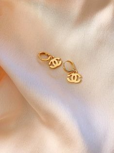 """-Gold Plated hoop earrings -For the Lightning Bolt Earring photo select """"Stormi"""" Style -For Double C Earring photo select """"Chrissy"""" Style Ear Jewelry, Cute Jewelry, Jewelry Accessories, Prom Jewelry, Jewelry Clasps, Pandora Jewelry, Gold Jewelry, Jewelry Design, Lightning Bolt Earrings"""