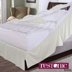 Restonic Easy On Bedskirt and Box Spring Protector | Overstock.com $24