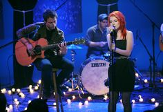 Paramore perform on 'MTV Unplugged. Mtv Unplugged, Desktop Pictures, Maybe One Day, Hayley Williams, Rare Photos, Free Pictures, Cool Bands, We Heart It, Teen