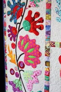 Amazing appliquie artist blog!!! Australian designer Kim McLean