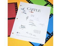 "Castle ""Ghosts"" Episode TV Script Autographed: Susan Sullivan, Tamala Jones, Ruben Santiago-Hudson, Stana Katic, Jon Huertas & More"
