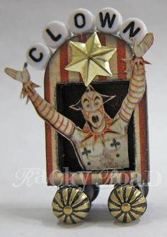Circus Train clown