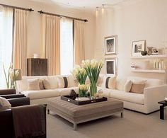 Zen Living Spaces déco zen | deco salon, salons and living rooms