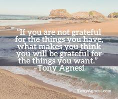 Gratitude | Tony Agnesi