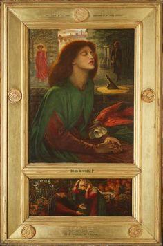Dante Gabriel Rossetti - Beata Beatrix, 1871-72