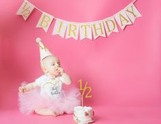Hey, I found this really awesome Etsy listing at https://www.etsy.com/listing/262533572/half-birthday-banner-12-birthday-banner