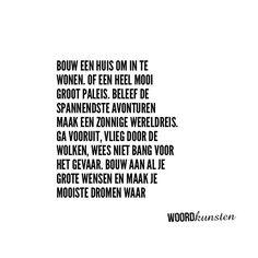 Droom en maak waar! #delenmag #woordkunsten #gedicht #dichtersvaninstagram