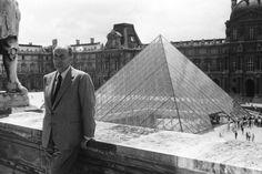 François Mitterrand #paris #louvre #pyramide #mitterand #grandstravaux