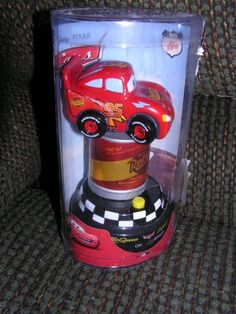 Disney Cars Lightning McQueen Talking Dashboard Car