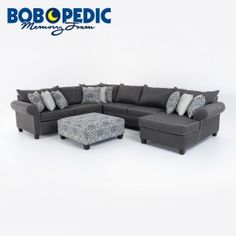 ashton 4 piece right arm facing sectional sectionals living room bobu0027s discount furniture town home pinterest living rooms room and furniture