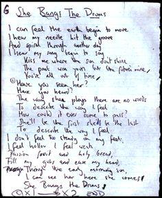 The Stone Roses - She Bangs the Drums lyrics