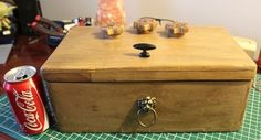 Combination Lock Jewelry Box