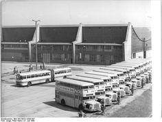 Berlin DDR 1969 Busbahnhof Weissensee