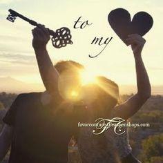 """Key to my Heart"" themed wedding favor ideas"