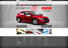 Honda by Milan Batista, via Behance