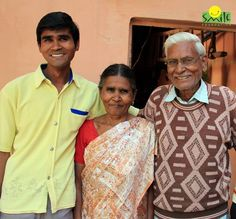 The only son in the family, Prakash Singh became the only light in the lives of his both parents who were suffering from unremitting illness. With the limited savings that Prakash's father had, the family struggled every day to make both ends meet.  Read the story: goo.gl/WAKo3k Youth Employment, Sons, Parents, Father, Meet, Dads, Pai, My Son, Raising Kids