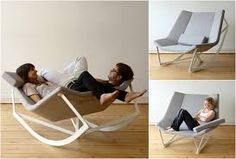 rocking chair with integrated cradle - Hledat Googlem