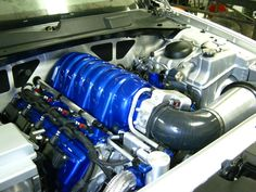 Jonn (MAGFX) Custom Engine Bay. Designed and Built by Jonn... and this is not his day job. Simply a beautiful bay.