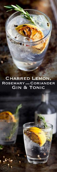This Charred Lemon, Rosemary and Coriander Gin & Tonic is something special! The flavours are so perfectly balanced and it makes a very beautiful start to the evening/afternoon. Well to any occasion!!! Have one at lunch time I won't judge just pour me one too!!!