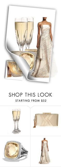 """""""303. Champion"""" by kristina-lindstrom ❤ liked on Polyvore featuring Baccarat, Lipsy, David Yurman, Rubin Singer and Christian Louboutin"""