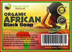 #Amazon #Beauty  #Organic #African #Black #Soap #Acne #Eczema #Psoriasis #Scar  #GetIt @ http://bit.ly/29ziG7l http://bit.ly/29AGsfF