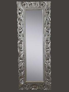 1000 images about baroque mirror provencal specchi stile barocco provenzale e shabby chic - Specchio barocco argento ...