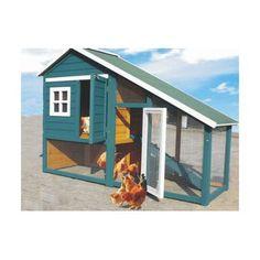 Konijnenhok Remus groen is een leuk konijnenhok met overdekte ren nachthok. Luxe bitumen dakbekleding. lengte: 136 cm. - Diep: 64 cm. - Hoogte: 126cm.