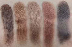 Inglot, DS 457, Shine 42, Pearl 409, Pearl 421, DS 458