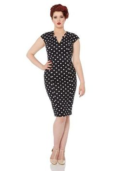 Kensington Vintage Dress by Voodoo Vixen - 8070 - Dark Fashion Clothing - 1