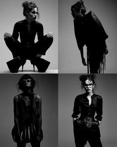 dark fashion black