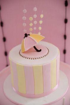 Umbrella cake