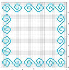 Cross Stitch Borders, Cross Stitch Designs, Cross Stitch Patterns, Beading Patterns, Embroidery Patterns, Knitting Patterns, Graph Paper Art, Diy Perler Beads, Fillet Crochet