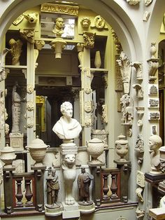 John Soane Museum. Likely one of my fave places on earth.