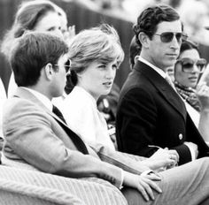 July 26, 1981: Prince Charles & his fiance, Lady Diana Spencer at the…