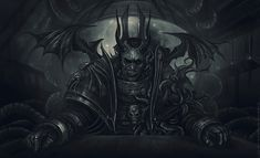 chaos d1sarmon1a monochrome night_lords space_marines tzeench vandred_anrathi