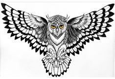 Sleeve tattoos, unique tattoos for men, tattoos for guys, owl tattoo ches. Owl Tattoo Drawings, Tattoo Sketches, Unique Tattoos For Men, Tattoos For Guys, Men Tattoos, Owl Tattoo Design, Tattoo Designs Men, Body Art Tattoos, Sleeve Tattoos