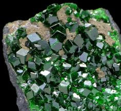 Demantoid Garnet from Russia Amazing how Earth can make something so beautiful.