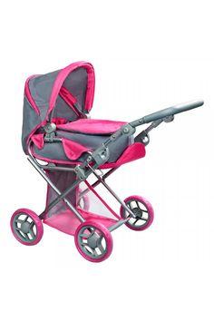 Multifunkčný kočík pre bábiky PlayTo Elsa sivo-ružový Baby Strollers, Elsa, Children, Kids, Strollers, Sons, Child, Babies, Jelsa
