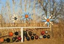 Bowling Ball Garden Art - Bing Images