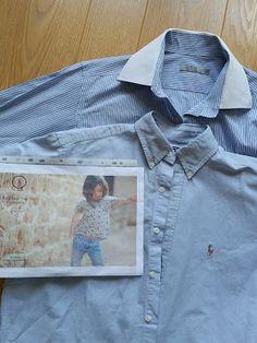 Des chemises hommes recyclées en Trop-Top filles                                                                                                                                                                                 Plus