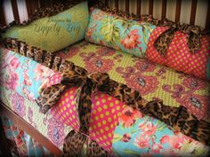 Baby Bedding Crib Set by Ziggetyzag on Etsy, $399.00