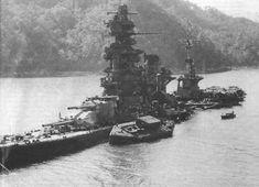 Battleship Hyuga it is destroyed