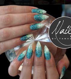 Lagoon & Appletini Glitter Gels